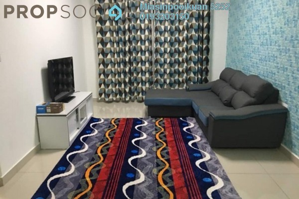 For Rent Condominium at The Parc Tower, Setapak Freehold Fully Furnished 3R/2B 1.8k