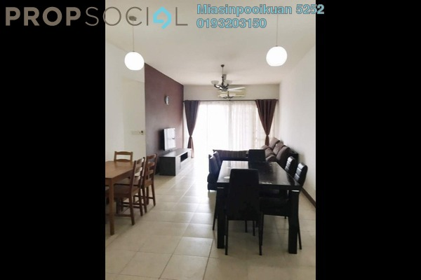 For Rent Condominium at Desa Putra, Wangsa Maju Freehold Fully Furnished 3R/2B 2.9k