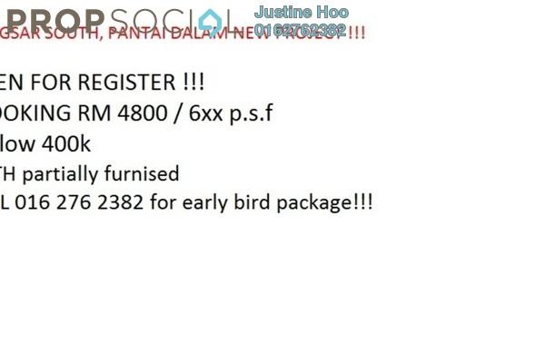 For Sale Serviced Residence at Residensi Kerinchi, Bangsar South Freehold Semi Furnished 2R/1B 350k