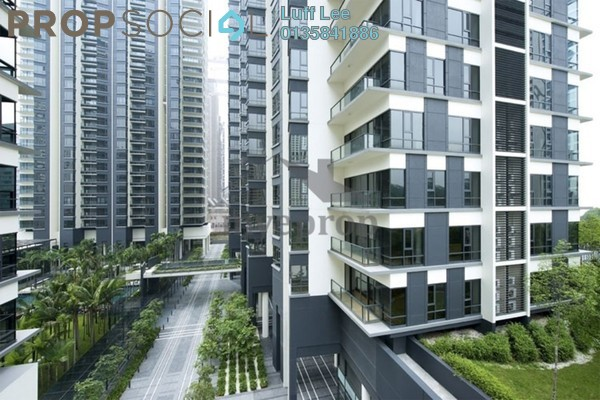 For Sale Condominium at St Mary Residences, KLCC Freehold Fully Furnished 1R/2B 1.65m