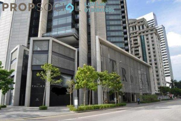 For Rent Condominium at The Troika, KLCC Freehold Fully Furnished 5R/4B 10k