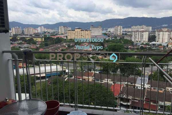 For Sale Condominium at D'Pines, Pandan Indah Leasehold Semi Furnished 4R/2B 615k