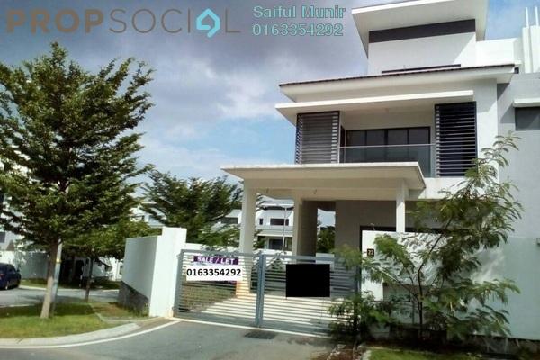 For Sale Semi-Detached at Kayumanis Garden Villa, Kajang Freehold Semi Furnished 5R/6B 1.2m