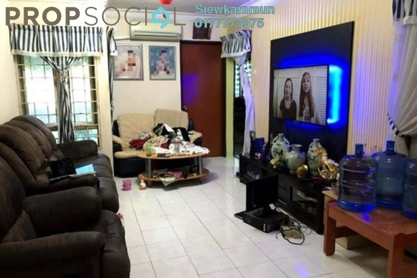 For Sale Apartment at Bayu Apartment, Damansara Damai Freehold Fully Furnished 3R/2B 308k