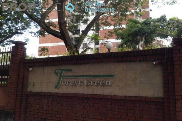 For Rent Condominium at Forest Green, Bandar Sungai Long Freehold Fully Furnished 3R/2B 1.8k
