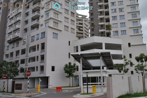 For Rent Condominium at Cova Villa, Kota Damansara Freehold Fully Furnished 3R/2B 1.6k