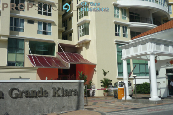 For Rent Condominium at La Grande Kiara, Mont Kiara Freehold Fully Furnished 4R/4B 4.6k