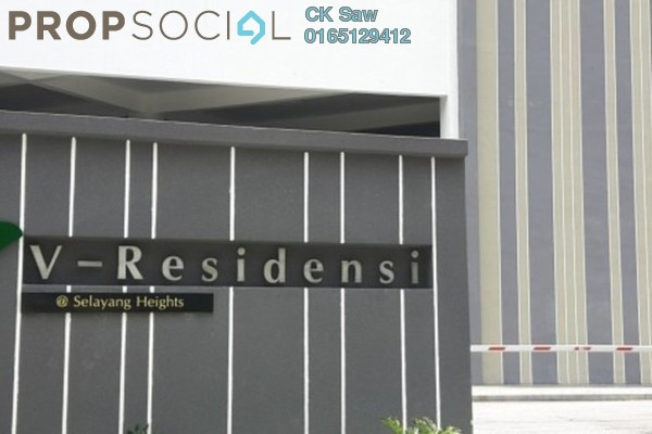 For Rent Condominium at V-Residensi, Selayang Heights Freehold Semi Furnished 3R/3B 1.5k