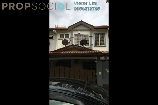 For Sale Terrace at Taman Tasik Prima, Puchong Freehold Semi Furnished 4R/3B 599k