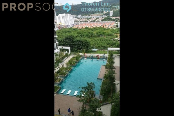 For Rent Condominium at Ideal Vision Park, Sungai Ara Freehold Unfurnished 3R/3B 1.2k