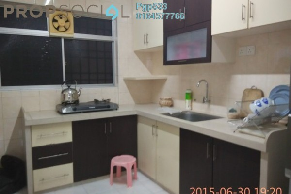 For Sale Apartment at Taman Pekaka, Sungai Dua Freehold Fully Furnished 3R/2B 385k
