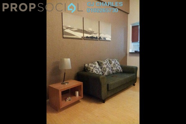For Rent Condominium at Summer Suites, KLCC Freehold Semi Furnished 1R/1B 1.8k