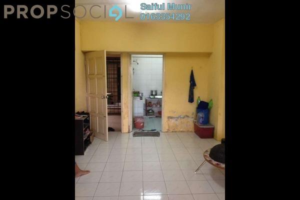 For Sale Apartment at Taman Bunga Negara, Shah Alam Freehold Unfurnished 3R/2B 185k