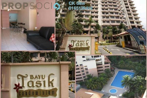 For Rent Condominium at Bayu Tasik 1, Bandar Sri Permaisuri Freehold Semi Furnished 3R/2B 1.25k