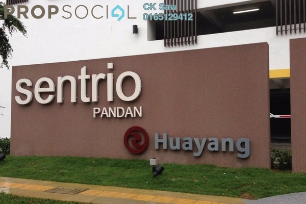 For Rent Condominium at Sentrio Suites, Desa Pandan Freehold Semi Furnished 3R/3B 4.2k
