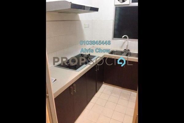 For Rent Condominium at Cengal Condominium, Bandar Sri Permaisuri Freehold Semi Furnished 3R/2B 1.5k