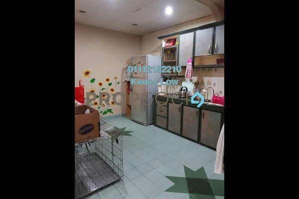 For Sale Terrace at Taman Bukit Maluri, Kepong Freehold Semi Furnished 3R/2B 660k