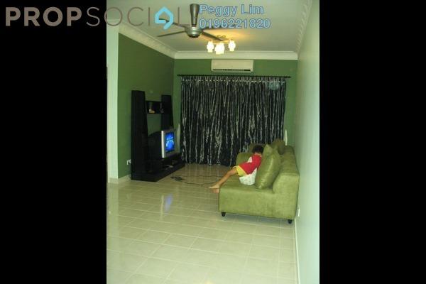 For Sale Apartment at Puteri Bayu, Bandar Puteri Puchong Freehold Semi Furnished 3R/2B 399k