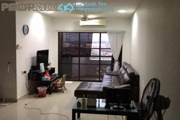 For Sale Condominium at Villamas Apartment, Bandar Puchong Jaya Freehold Semi Furnished 3R/2B 460k