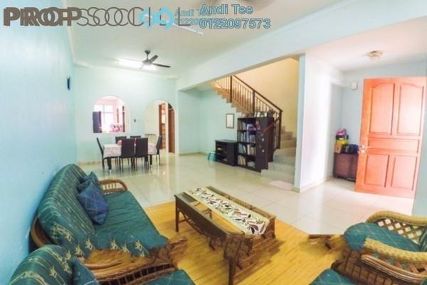 For Sale Terrace at Taman Tropika, Kajang Freehold Semi Furnished 4R/3B 580k