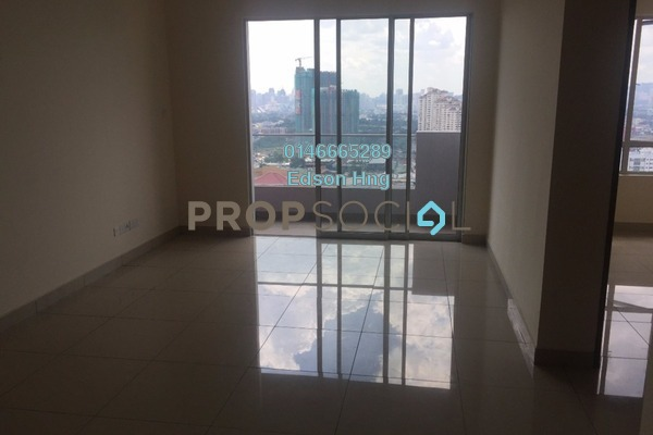 For Sale Condominium at Platinum Lake PV21, Setapak Freehold Semi Furnished 2R/2B 430k