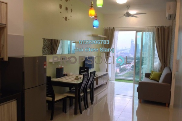 For Rent Serviced Residence at Desa Green Serviced Apartment, Taman Desa Freehold Fully Furnished 2R/2B 2.2k