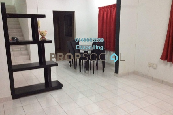 For Rent Townhouse at Wangsa Metroview, Wangsa Maju Freehold Semi Furnished 3R/2B 1.8k