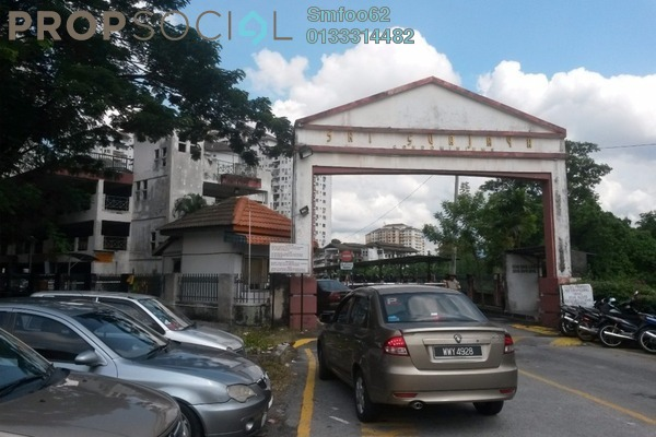 For Rent Condominium at Sri Suajaya, Sentul Freehold Fully Furnished 3R/2B 2k