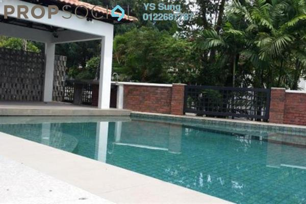 For Rent Bungalow at Federal Hill, Bangsar Freehold Semi Furnished 5R/5B 10k