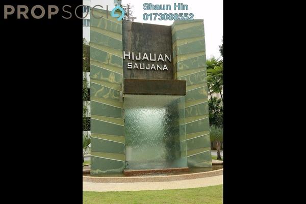 For Sale Condominium at Hijauan Saujana, Saujana Freehold Semi Furnished 1R/1B 450k