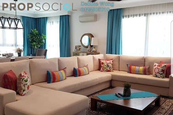 For Sale Condominium at Sastra U-Thant, Ampang Hilir Freehold Fully Furnished 4R/4B 3.8m