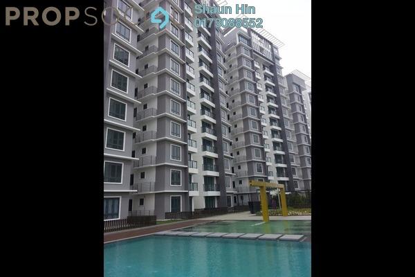 For Sale Condominium at Boulevard Residence, Bandar Utama Freehold Semi Furnished 3R/2B 640k