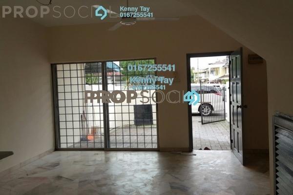 For Sale Terrace at Taman Sejahtera, Jinjang Freehold Semi Furnished 4R/3B 517k