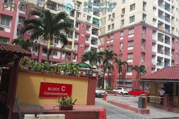 For Rent Condominium at South City Plaza, Seri Kembangan Freehold Semi Furnished 3R/2B 1.2k