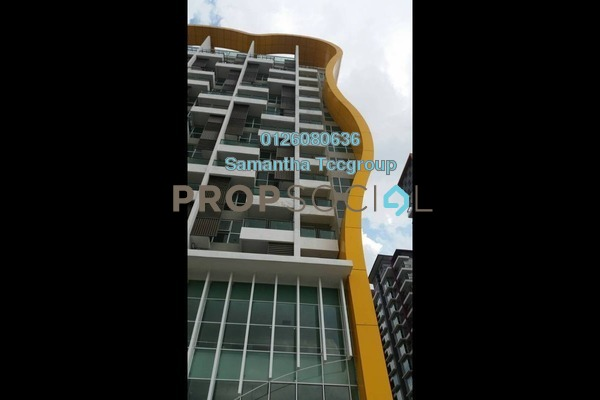 For Rent SoHo/Studio at Pacific Place, Ara Damansara Freehold Semi Furnished 0R/1B 1.6k