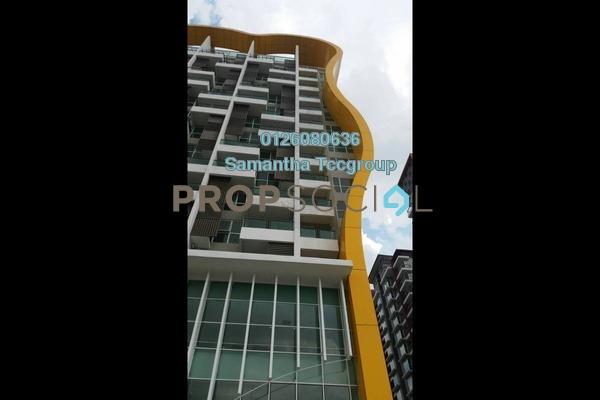 For Rent SoHo/Studio at Pacific Place, Ara Damansara Freehold Semi Furnished 0R/1B 1.6k