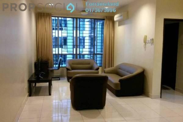 For Rent Condominium at Casa Tiara, Subang Jaya Freehold Fully Furnished 3R/2B 2.1k