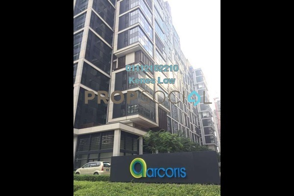 For Rent Office at Arcoris, Mont Kiara Freehold Unfurnished 0R/1B 4k