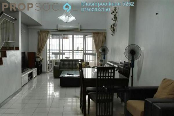 For Sale Condominium at Fortune Park, Kepong Freehold Fully Furnished 3R/3B 980k