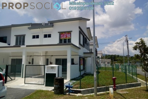 For Rent Terrace at The Corner @ Alam Damai, Alam Damai Freehold Unfurnished 3R/3B 1.1k