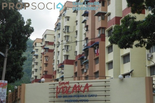 For Rent Apartment at Taman Pekaka, Sungai Dua Freehold Fully Furnished 3R/2B 1.2k