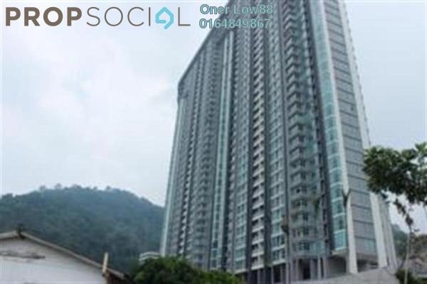 For Rent Condominium at The Peak Residences, Tanjung Tokong Freehold Unfurnished 3R/2B 1.45k