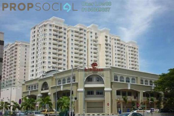 For Sale Condominium at D'Piazza Condominium, Bayan Baru Freehold Fully Furnished 3R/2B 589k