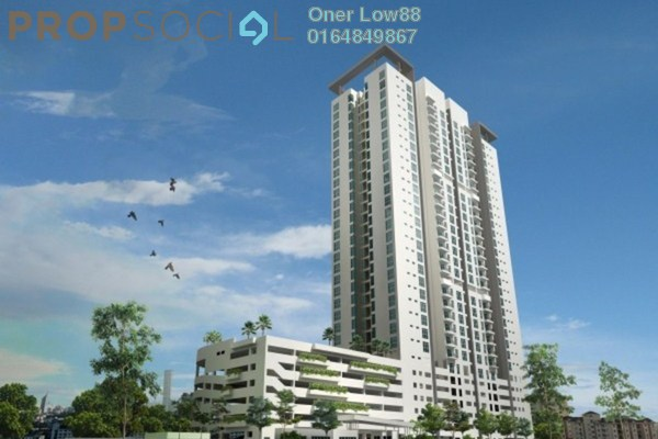 For Sale Condominium at Straits Garden, Jelutong Freehold Unfurnished 3R/2B 840k