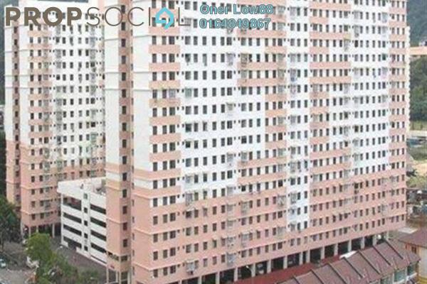 For Sale Apartment at Sri Aman Apartment, Relau Freehold Semi Furnished 3R/2B 280k