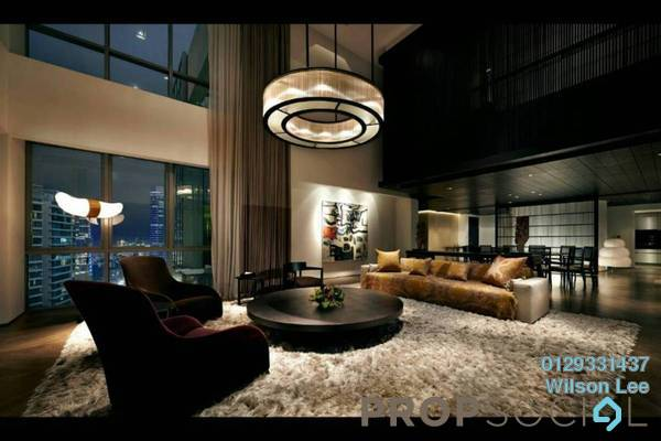 For Sale Condominium at The Meritz, KLCC Freehold Fully Furnished 2R/3B 4.2m