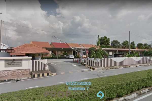 For Sale Terrace at Alam Idaman, Puchong Leasehold Semi Furnished 3R/2B 350k