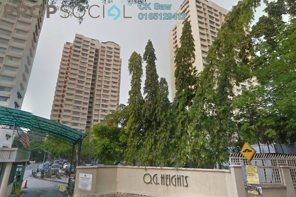 For Rent Condominium at OG Heights, Old Klang Road Freehold Fully Furnished 2R/2B 1.2k