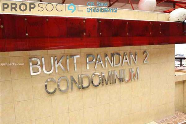 For Rent Condominium at Bukit Pandan 2, Pandan Perdana Freehold Unfurnished 2R/2B 1.1k