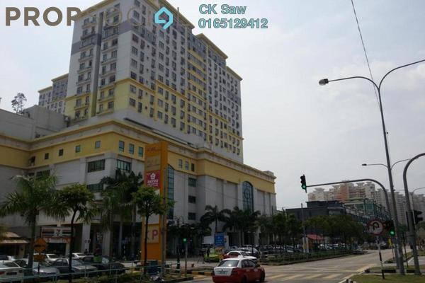For Rent Condominium at South City Plaza, Seri Kembangan Freehold Fully Furnished 1R/1B 1.1k